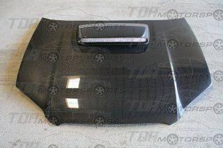 Seibon Carbon Fiber OEM Style Hood Subaru WRX STI 04 05: Automotive