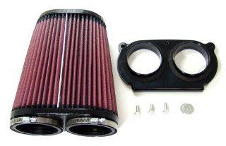 Yamaha Raptor 660 / 686 Intake Adaptor + K&N Air Filter Automotive