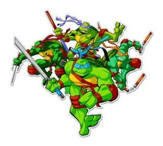 Teenage Mutant Ninja Turtles Vynil Car Sticker Decal   Select Size Automotive