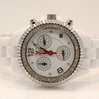 Aqua Master Ladies Ceramic Diamond Watch 1.25ctw W1151 at  Women's Watch store.