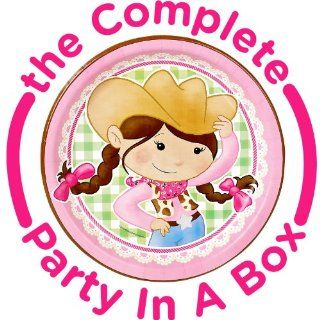 Pink Cowgirl Party Packs: Toys & Games