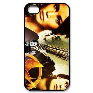 Cell Phone Accessories Classic Chief Actress of The Hunger Games&Jennifer Lawrence iPhone 4/4S Fitted Black Hard Cases Cool As Gift: Cell Phones & Accessories