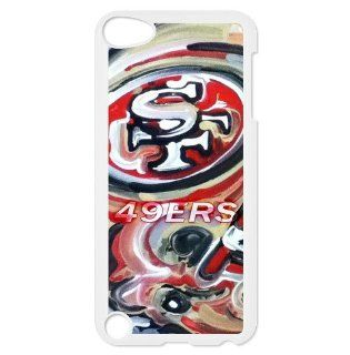 Fitted iPod touch 5 case with San Francisco 49ers logo: Cell Phones & Accessories