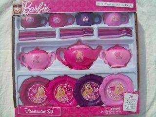Barbie Dinnerware Set Toys & Games