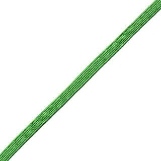 Venus Ribbon B01257 EMERAL 1/4 Inch Rayon Middy Braid, 12 Yard, Emerald