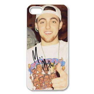 Custom Mac Miller Cover Case for iPhone 5/5s WIP 3807: Cell Phones & Accessories