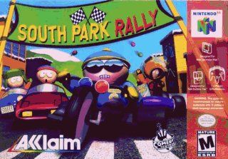 South Park Rally Video Games