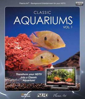 Plasma Art: Classic Aquariums (Volume 1)      DVD