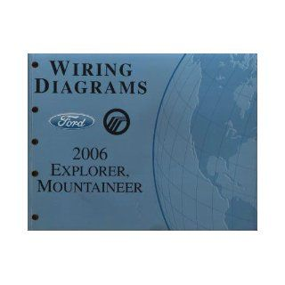 2006 Ford Explorer, Mercury Mountaineer Wiring Diagrams Manual: Ford Motor Company: Books