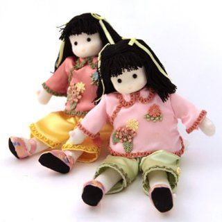 Shop Chinese Set of 2 Collectible Musical Dolls By Green Tree at the  Home D�cor Store