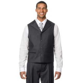 Caravelli Fusion Mens Grey 3 piece Vested Suit