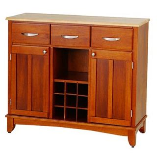 Home Styles Hutch Style Buffet   Oak/Natural