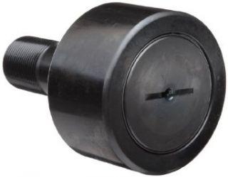 "Koyo CRS 20 Track Roller, Standard Stud, Sealed/Slotted, Inch, Steel, 1 1/4"" Roller Diameter, 0.750"" Roller Width, 1 1/4"" Stud Length, 1/2"" Thread Size, 2 1/32"" Overall Length, 0.500"" Stud Diameter Cam Follower Bearings Indu"