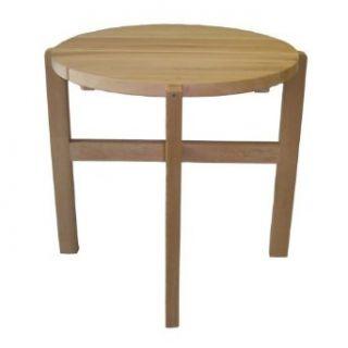 Cedar Delite RCFNT820X750 Atlantic Round Outdoor End Table