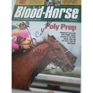 The Blood Horse, April 21, 2007, Signed by Calvin Borel and Rafael Bejarano Blood Horse Magazine Books