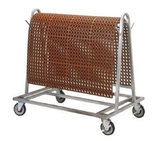 NoTrax 755 641 Mat Utility Kart, Galvanized Steel Frame, 40 x 42 x 28 in, holds 500 lbs, Each: Kitchen & Dining