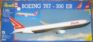 Boeing 767 300 Jet 1/144 Scale Lauda/LTU Airlines Model Airplane Kit: Toys & Games