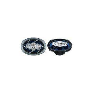 "NAXA NCS 769 High Power 6x9"" 6 Way Car Speaker  Component Vehicle Speaker Systems  Electronics"