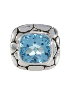 Batu Kali Blue Topaz Ring by John Hardy