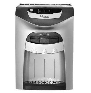 AquaTal Classic Water Cooler Dispenser (Gray), Counter Top, Hot/Cold/Ambiant, Stainless Steel Tanks, FILTERS INCLUDED Pou Countertop Dispenser Kitchen & Dining