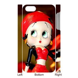 Custom Betty Boop 3D Cover Case for IPhone 5/5s WIP 798: Cell Phones & Accessories