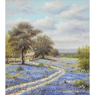 Art: Bluebonnet : Oil : W R Thrasher