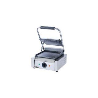 Adcraft SG 811/F Sandwich Grill Press Flat Cast Iron Cooking Surface Industrial & Scientific