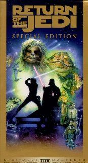 Star Wars, Episode VI Return of the Jedi (Special Edition) [VHS] Mark Hamill, Harrison Ford, Carrie Fisher, Billy Dee Williams, Anthony Daniels, Peter Mayhew, Sebastian Shaw, Ian McDiarmid, Frank Oz, James Earl Jones, David Prowse, Alec Guinness, Richard