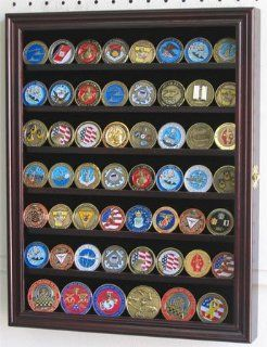 Collectible Coin / Antique Coin / Challenge Coin Display Case Wall Cabinet, COIN56 MAH