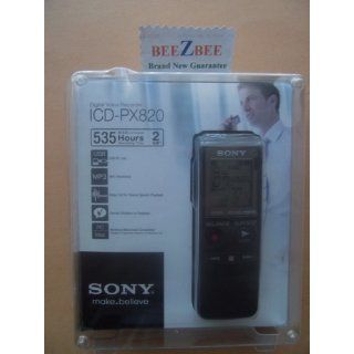 Sony ICD PX820 Digital Voice Recorder (Black) Electronics