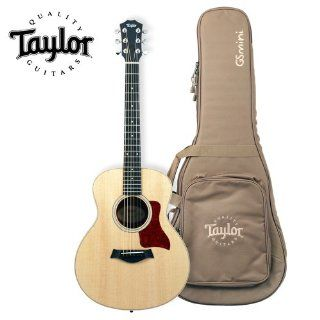 Taylor Guitars GS Mini Reduced Scale Grand Symphony Acoustic Guitar with Taylor Gig Bag Musical Instruments