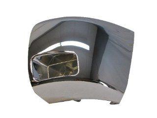 07 10 08 07 06 CHEVY SILVERADO 2500 3500 FRONT BUMPER CAP/END CHR W/FOG HOLE LH Automotive