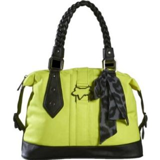 Fox Racing Womens Clarity Bowler Purse, Day Glo Yellow / One Size: Shoes