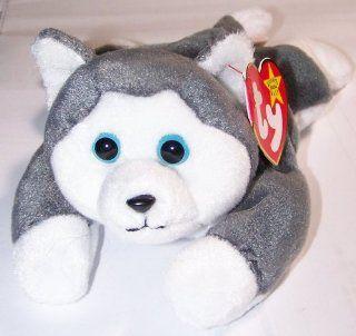 TY Beanie Baby   NANOOK the Husky: Toys & Games