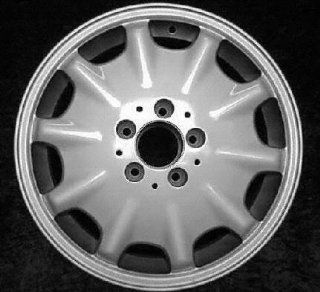 98 99 MERCEDES BENZ E430 e 430 ALLOY WHEEL RIM 16 INCH, Diameter 16, Width 7.5 (10 HOLE), MACHINED FINISH, 1 Piece Only, Remanufactured (1998 98 1999 99) ALY65168U10: Automotive