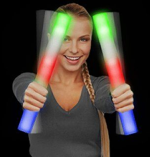 Light Up Multi Color LED Foam Stick Baton Clothing