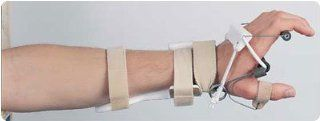 "LMB Radial Nerve Splint with MP Extension and Adjustable Thumb Assist Left, Radial Nerve Splint. Size: C 2.875"" 3�"", Force: 2 lbs.: Health & Personal Care"
