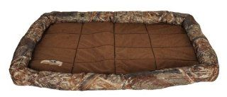 Mossy Oak 27 by 42 Inch Bolster Pet Crate Mat, X Large: Pet Supplies