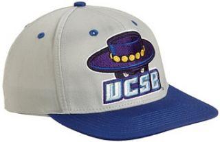 NCAA Uc Santa Barbara Gauchos Primary Logo College Snap Back Team Hat, Grey, One Size  Sports Fan Baseball Caps  Clothing