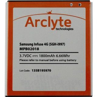 Arclyte Technologies MPB02018 MOBILE PHONE BATTERY   SAMSUNG INFUSE 4G (EB555157VA) Computers & Accessories