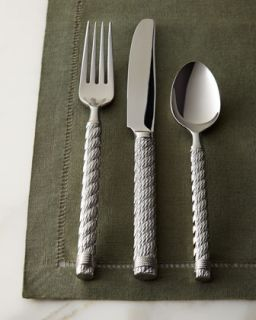 Five Piece Rope Flatware Place Setting   Aerin for Lenox