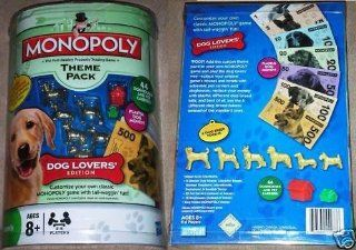 Monopoly Theme Pack Dog Lovers' Edition Toys & Games