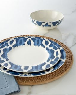 Deep Sea Ikat Cereal Bowl   Aerin for Lenox
