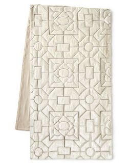 Queen Maze Bed Scarf, 24W x 86L   Callisto Home