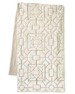 Queen Maze Bed Scarf, 24W x 86L   Callisto Home