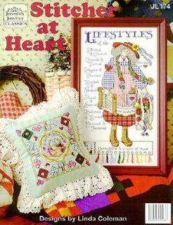 Stitcher At Heart   Cross Stitch Pattern