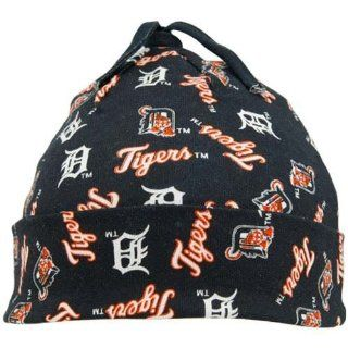 Twins Enterprise Detroit Tigers Navy Blue Newborn Team Baby Beanie  Infant And Toddler Sports Fan Apparel  Sports & Outdoors
