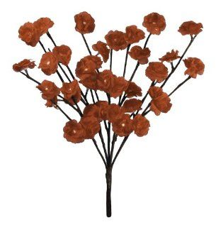 Floral Lights Lighted Red Rose Branch with 30 bulbs, 20 inches (Battery operated): Home Improvement