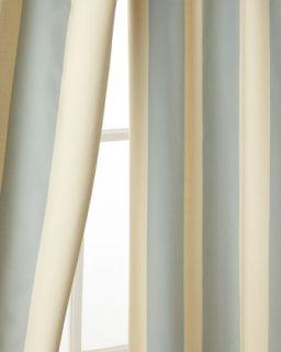 Each 50W x 96L Madeline Striped Curtain   Pine Cone Hill