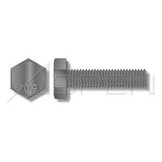(60pcs) Metric DIN 933 M14X25 Hex Head Cap Screw with Full Thread Class 10 Steel Ships Free in USA Cap Screws And Hex Bolts Industrial & Scientific